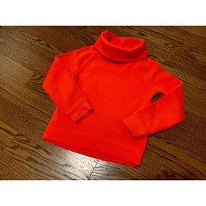 Girl's Fleece Turtleneck Sweatshirt
